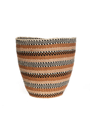 Couleur Locale Sisal basket - earth colors #25