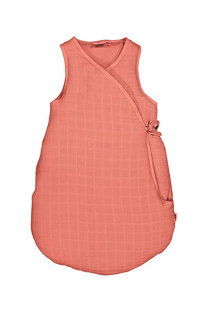 Moumout Sleepy sleeping bag quilted - terracotta