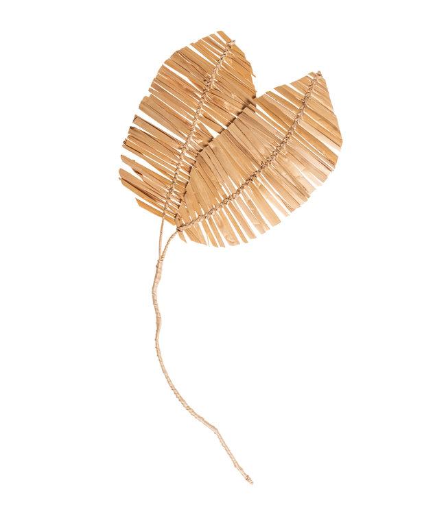 Decorative stem banana leaf 2 leaf