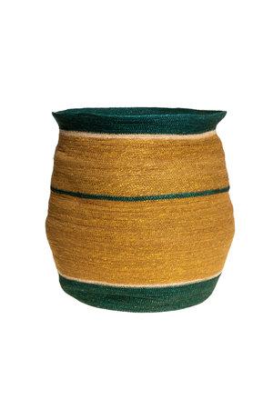 Caravane Basket Toka L - cypres & natural