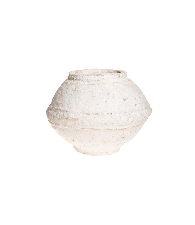 oude graanpot papier-maché #15