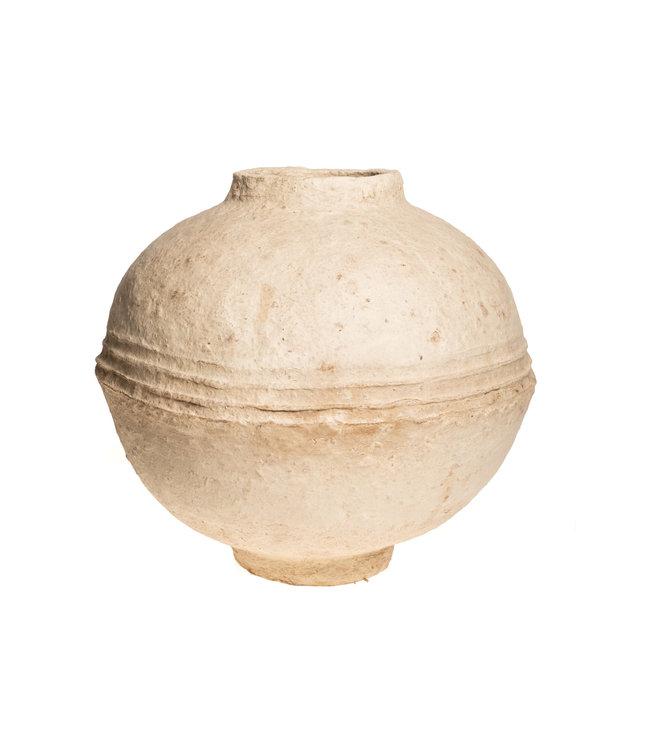 old grain container papier-maché #19