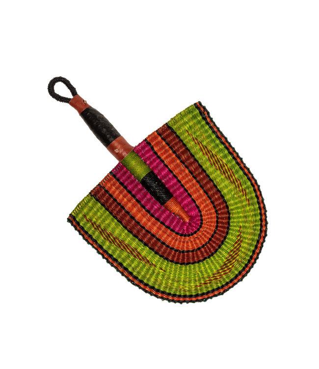 Bolga waaier - multicolor
