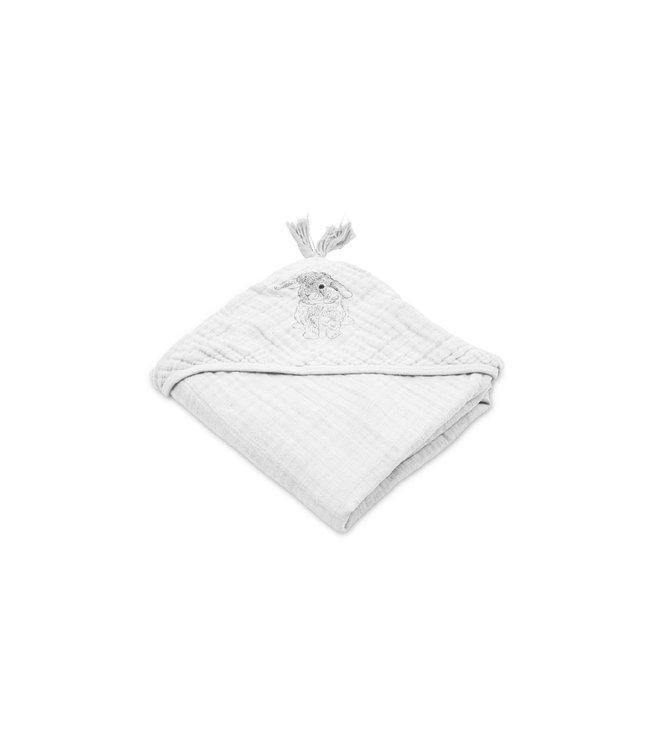 Sybel muslin handdoek - lapin blanc
