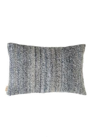 Cushion alpaca chine bleu