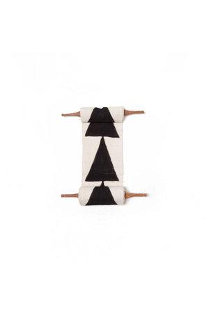 AAAA Bogolan totem - intention - wit/zwart