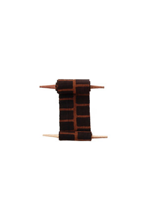 AAAA Bogolan totem - community - bruin/zwart