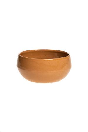 Salad bowl MM ceramics - ochre