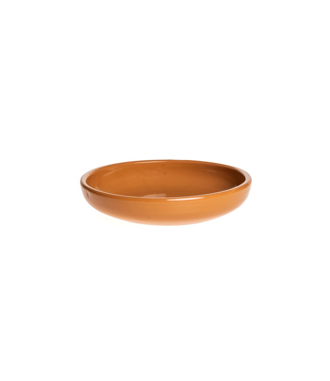 Plate PM ceramics - ochre