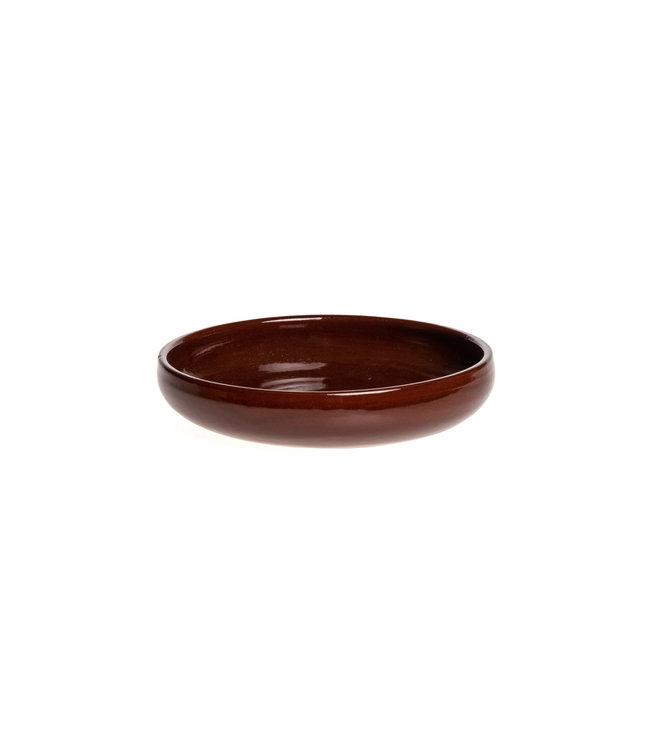 Plate PM ceramics - caramel