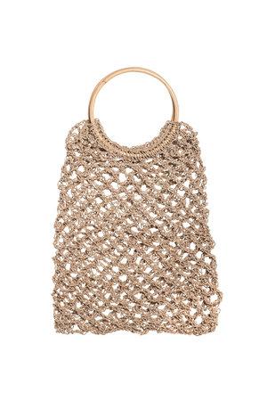 Hemp bag with bamboo handle - Bali