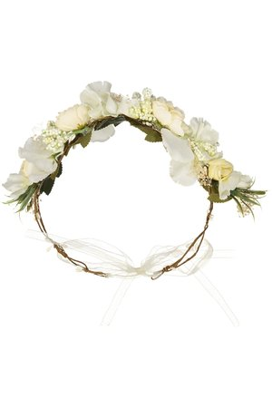 Obi Obi Flower crown white