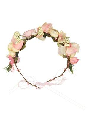 Obi Obi Bloemenkroon roze