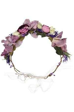 Obi Obi Flower crown purple