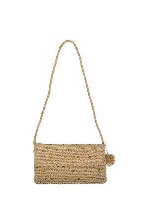 Obi Obi Raffia crochet handbag