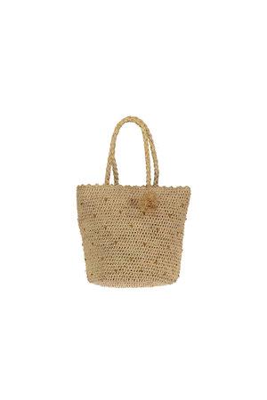 Obi Obi Raffia basket bag S