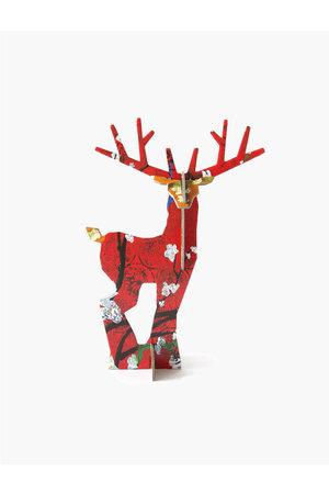 Studio Roof Pop out card - deer