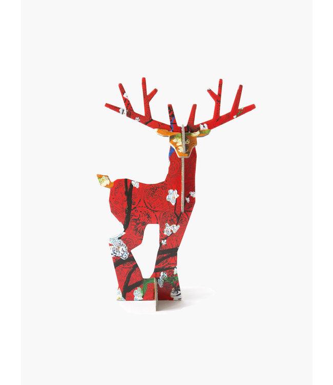 Pop out card - deer