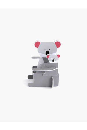 Studio Roof Pop out card - koala