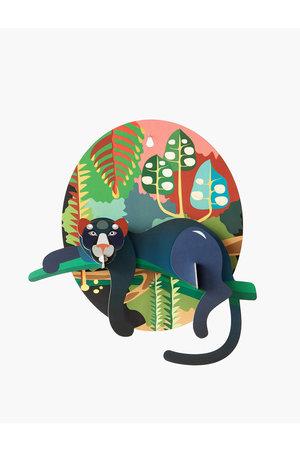 Studio Roof Pop put card - jungle puma