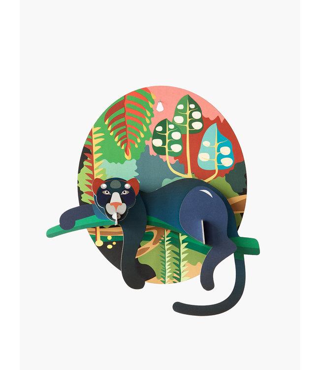 Pop put card - jungle puma