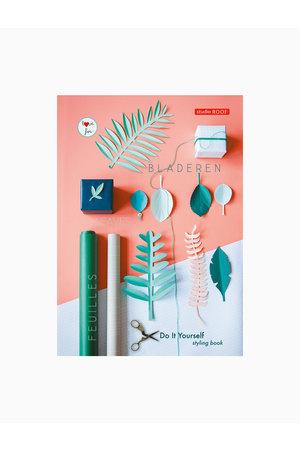 Studio Roof Diy styling boek - groene bladeren