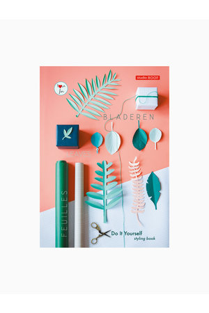 Studio Roof Diy styling book - green leaves