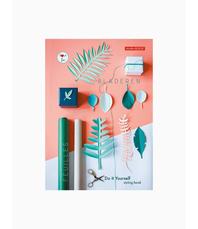 Diy styling boek - groene bladeren