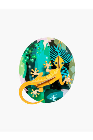 Studio Roof Muurdecoratie - jungle gekko