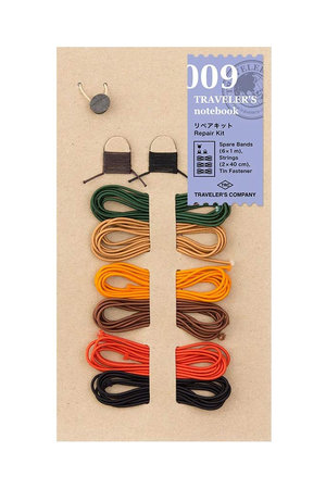 Midori Traveler's notebook - 009. repair kit 6 Colors