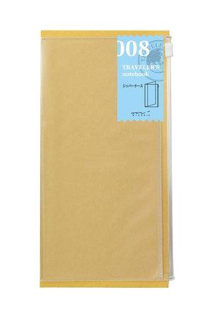 Midori Traveler' notebook - 008. zipper case