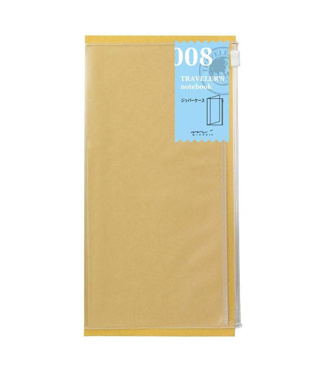 Traveler' notebook - 008. zipper case