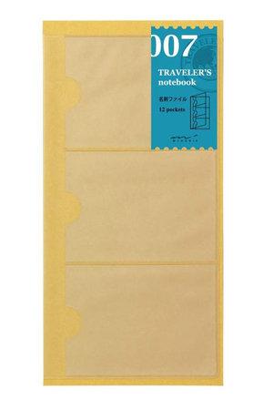 Midori Traveler's notebook - 007. card holder