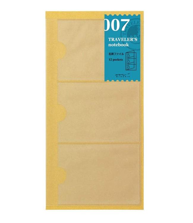 Midori Traveler's notebook - 007. kaarthouders