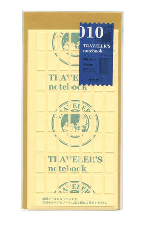 Midori Traveler's notebook - 010. double sided stickers