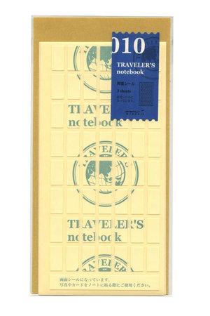 Midori Traveler's notebook - 010. dubbelzijde stickers