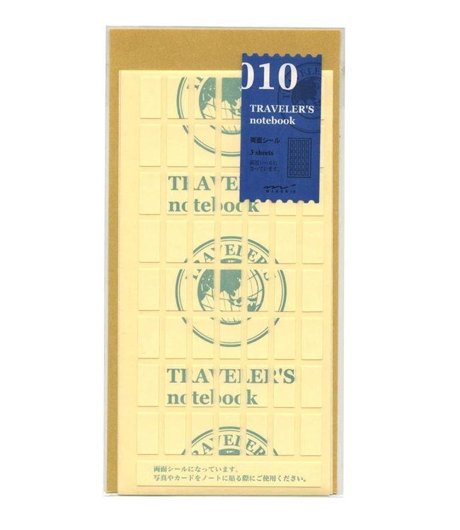 Traveler's notebook - 010. dubbelzijde stickers