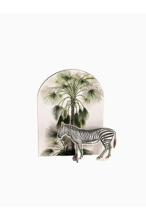Studio Roof Pop put card - tropical zebra