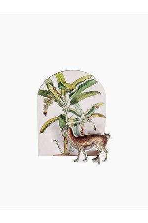 Studio Roof Pop put card - tropical lama