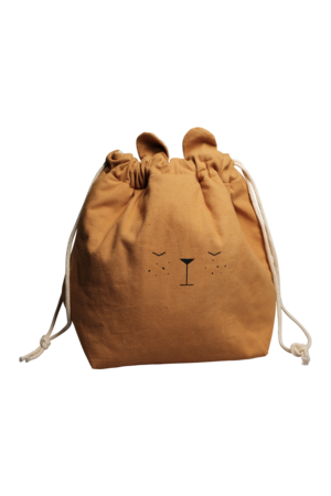 Storage bag bear - ochre
