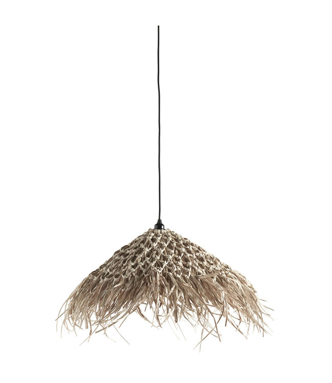 Lamp shade in palm leaves