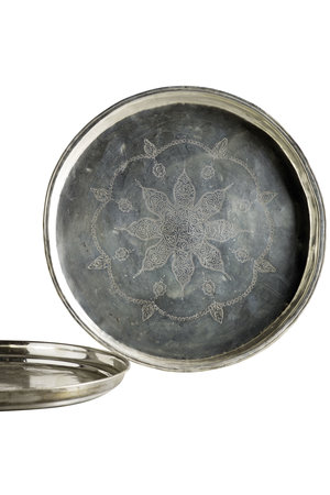 Tine K Home Antique silver plated tray