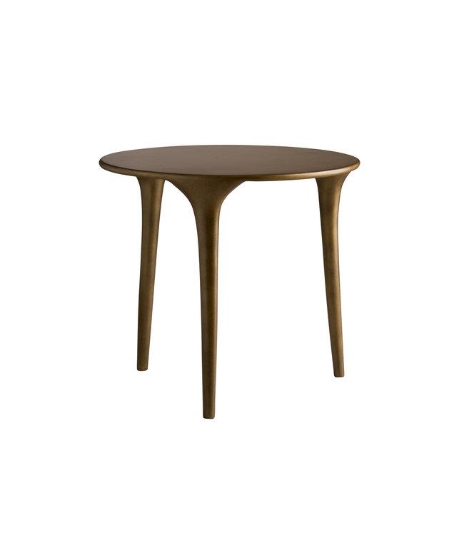 Three-legged coffee table medium - honey glaze