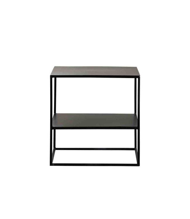 Metal table with shelf - phantom