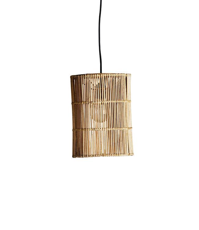 Lampshade in rattan 'hangtube'