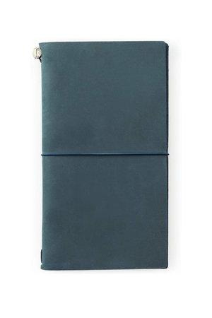 Midori Traveler's notebook - blauw