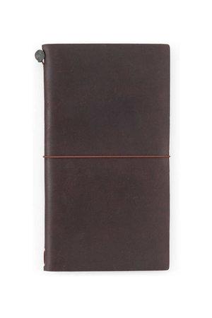 Midori Traveler's notebook - bruin