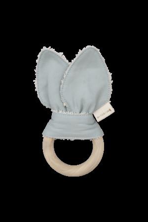 Fabelab Organic cotton cat teething ring