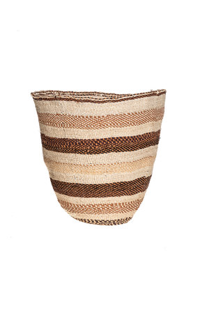 Couleur Locale Sisal basket - earth colors #35