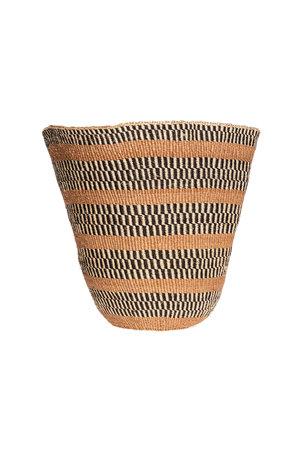 Couleur Locale Sisal mandje Kenia - aardetinten #31
